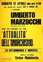 Attualità dell'anarchismo