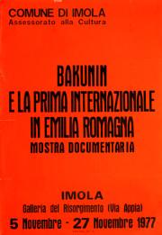 Bakunin e la I° Internazionale