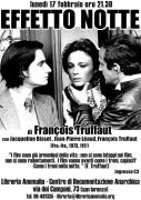 Effetto notte di F. Truffaut locandina film