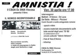 Amnistia, manifesto