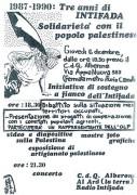 Tre anni di Intifada, manifesto