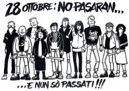 28 ottobre: no pasaran, manifesto