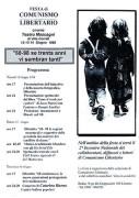 Festa di Comunismo Libertario, manifesto
