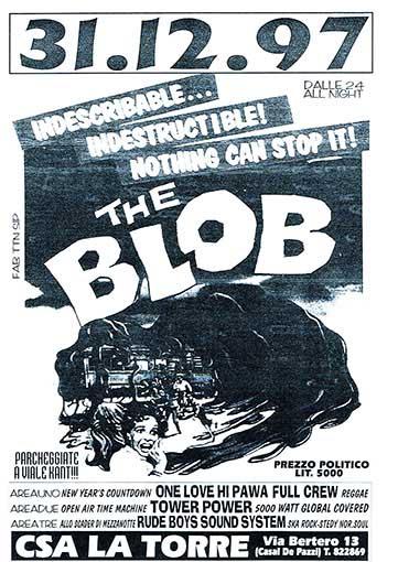 The blob, manifesto