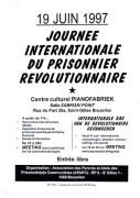 Journee internationale du prisonnier revolutionnaire, manifesto