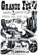 Joe Fallisi, canti anarchici, manifesto