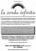 Programmi di integrazione psicocorporea, manifesto
