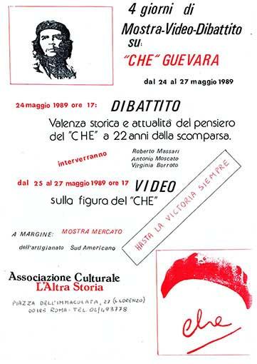4 giorni di Che Guevara, manifesto