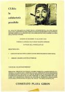 Cuba: la solidarietà possibile, manifesto