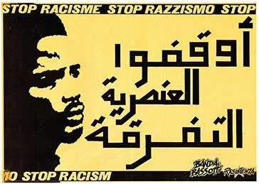 Stop racisme, manifesto