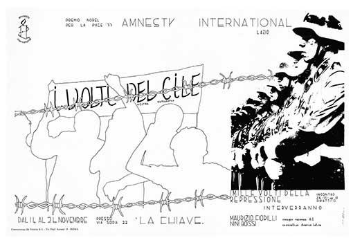 I volti del Cile, manifesto