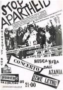 Stop apartheid, manifesto