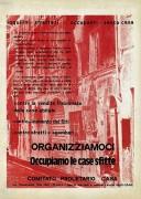 Organizziamoci, occupiamo le case sfitte, manifesto