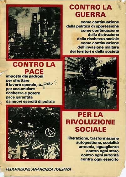 Per la rivoluzione sociale, manifesto