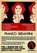 Franco Serantini, manifesto