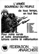 Pour notre survie et notre emancipation luttons contre la militarisation, manifesto