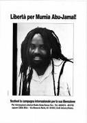 Libertà per Mumia Abu Jamal, manifesto