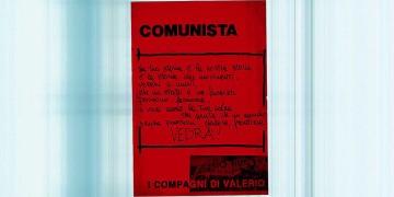 Comunista, manifesto