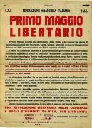 Primo Maggio libertario, manifesto