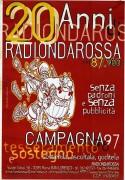 20 ani di Radio Onda Rossa, manifesto