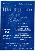 Blues night live, manifesto