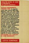 Walter Rossi è stato assassinato, manifesto