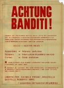 Achtung banditi!, manifesto