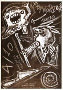 frammentazione, teatro musica contro la tortura manifesto