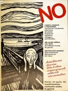 No a guerre, massacri, nazionalisni - manifesto