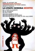 Lo stato genera mostri, manifesto