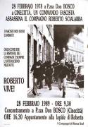 Roberto Scialabba, manifesto