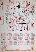 Radio Onda Rossa, calendario, manifesto