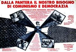 Dalla Pantera al nostro bisogno di Comunismo, manifesto