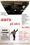 Auro, gli altri, la città, manifesto