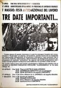 25 Aprile - 27 Aprile - 1° Maggio, manifesto