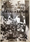 Valerio: la rabbia l'amore, manifesto