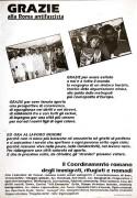 Grazie alla Roma antifascista, manifesto