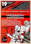 Cantanapoli antifascista, manifesto