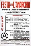 festa per l'anarchia, manifesto