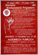 Giornata Internazionale del Rivoluzionario Prigioniero, Manifesto