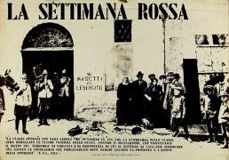 La Settimana Rossa, Manifesto