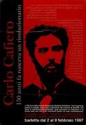 Carlo Cafiero, Manifesto