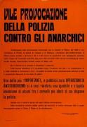 provocazione della polizia, manifesto