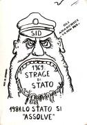 Lo stato si assolve, manifesto