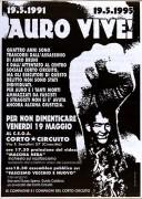 Auro vive, Manifesto