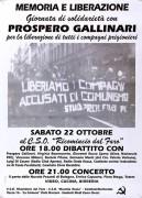 Prospero gallinari, Manifesto