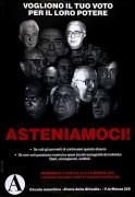 asteniamoci, Manifesto