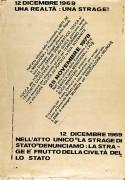 12 dicembre: una strage, Manifesto