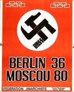 Berlin 36 Moscou 80 Manifesto