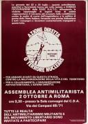 azione diretta o terrore nucleare manifesto